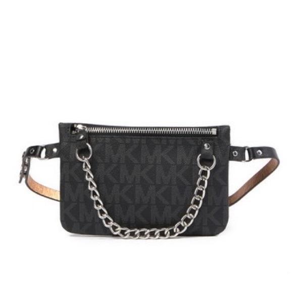 MICHAEL Michael Kors Handbags - Michael Kors Pull Chain Belt Bag/ Size: S